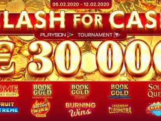 Турнир Clash for Cash от Playson